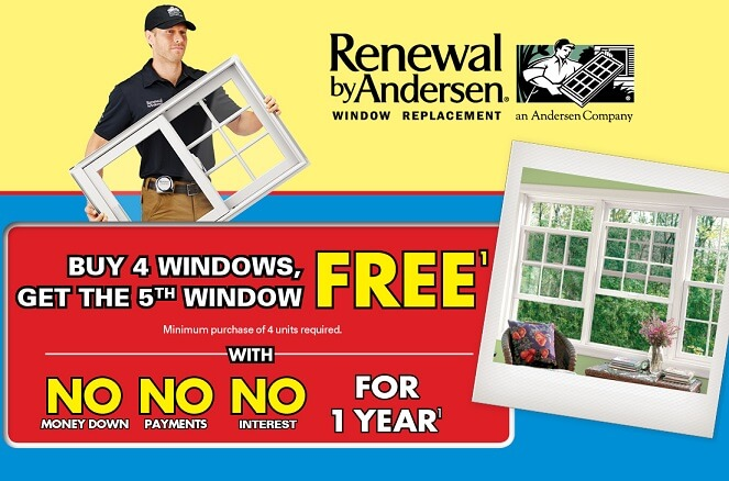 august 2017 window replacement sale
