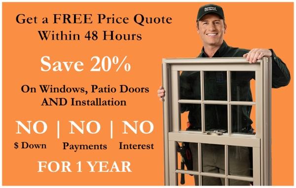 window and patio door sale offer