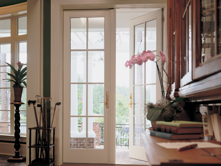 french hinged patio door feature 1 - Exterior Patio Doors