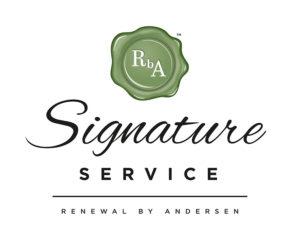 signature service badge
